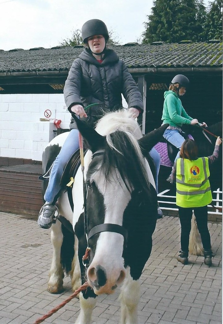 Hayley Horse Riding